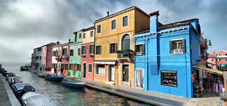 Burano Adası ( Venedik )