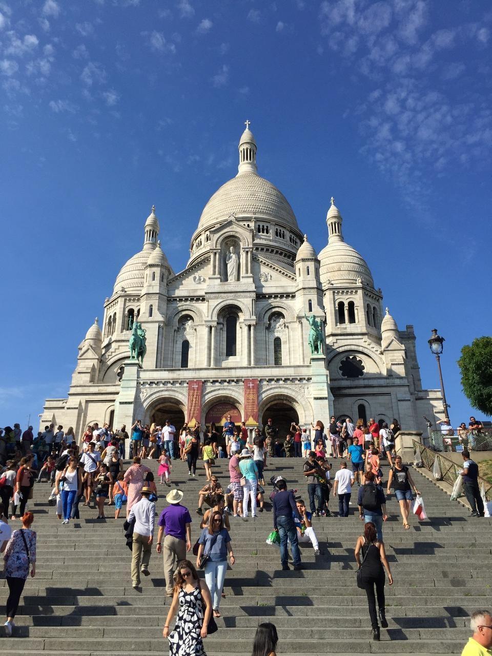Paris Sacre Coeur Bazilikası