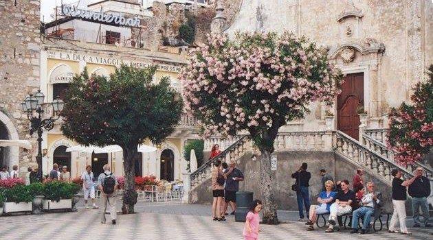 Sicilya Etna Taormina gezilecek yerler