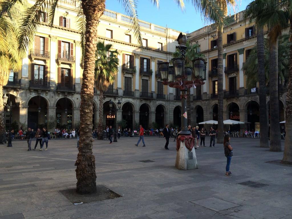 Plaça Reial