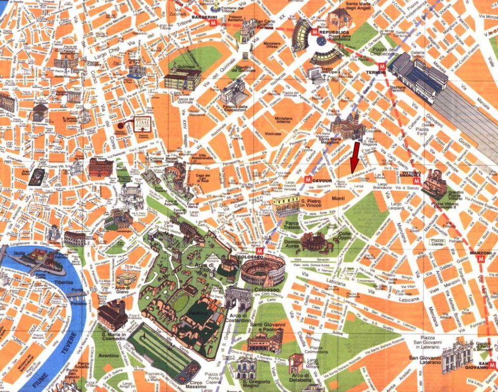 Roma  Haritası