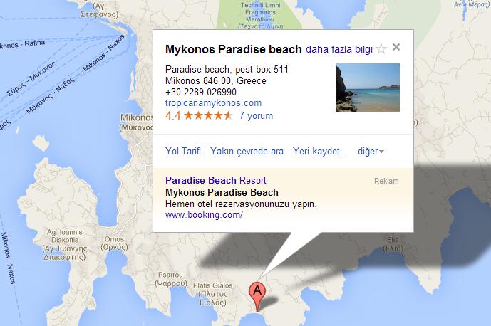 Mikonos Adası Gezi Notları , Paradise Beach