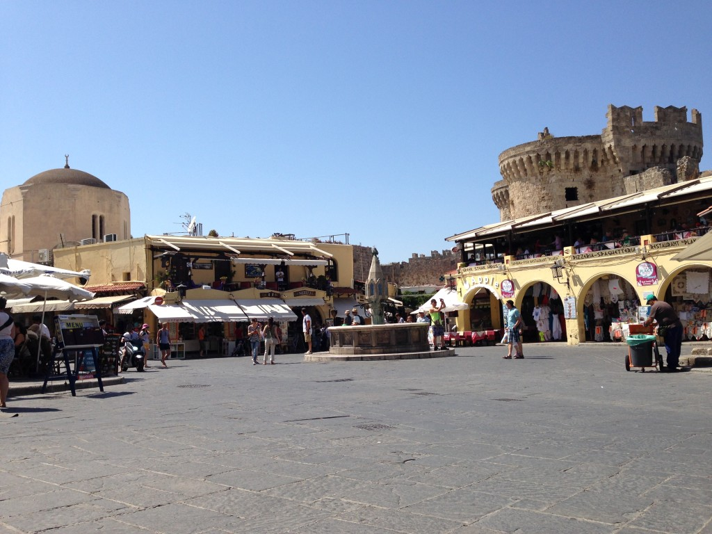 Rodos Old Town Square