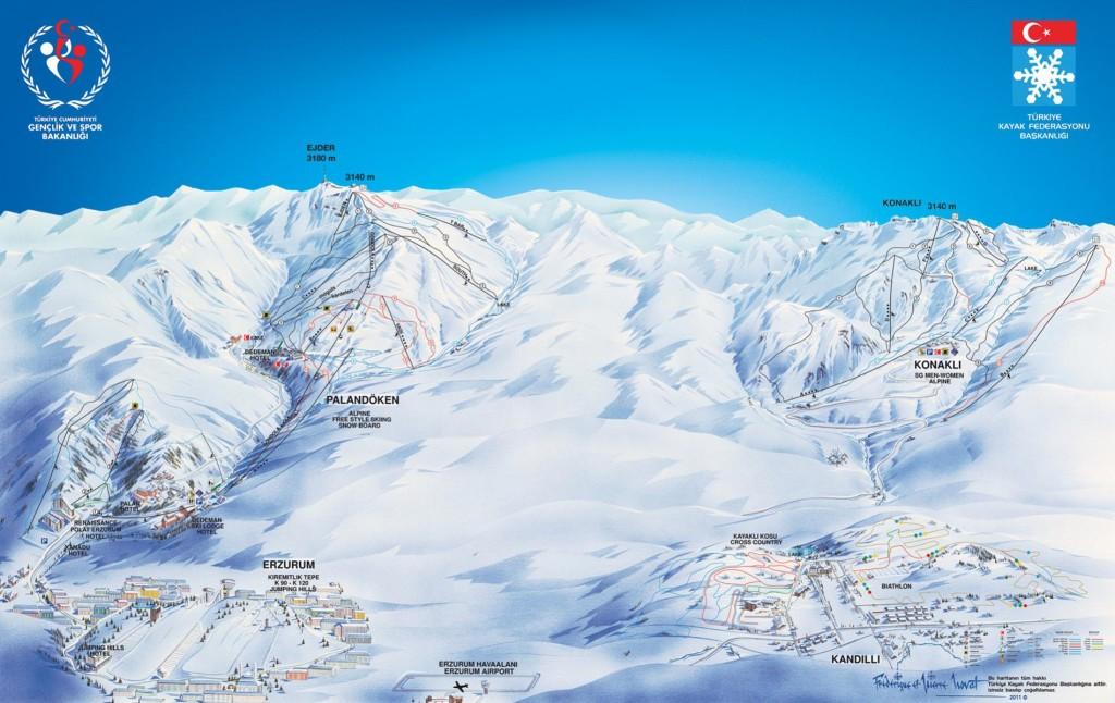 Erzurum Kayak Pistleri