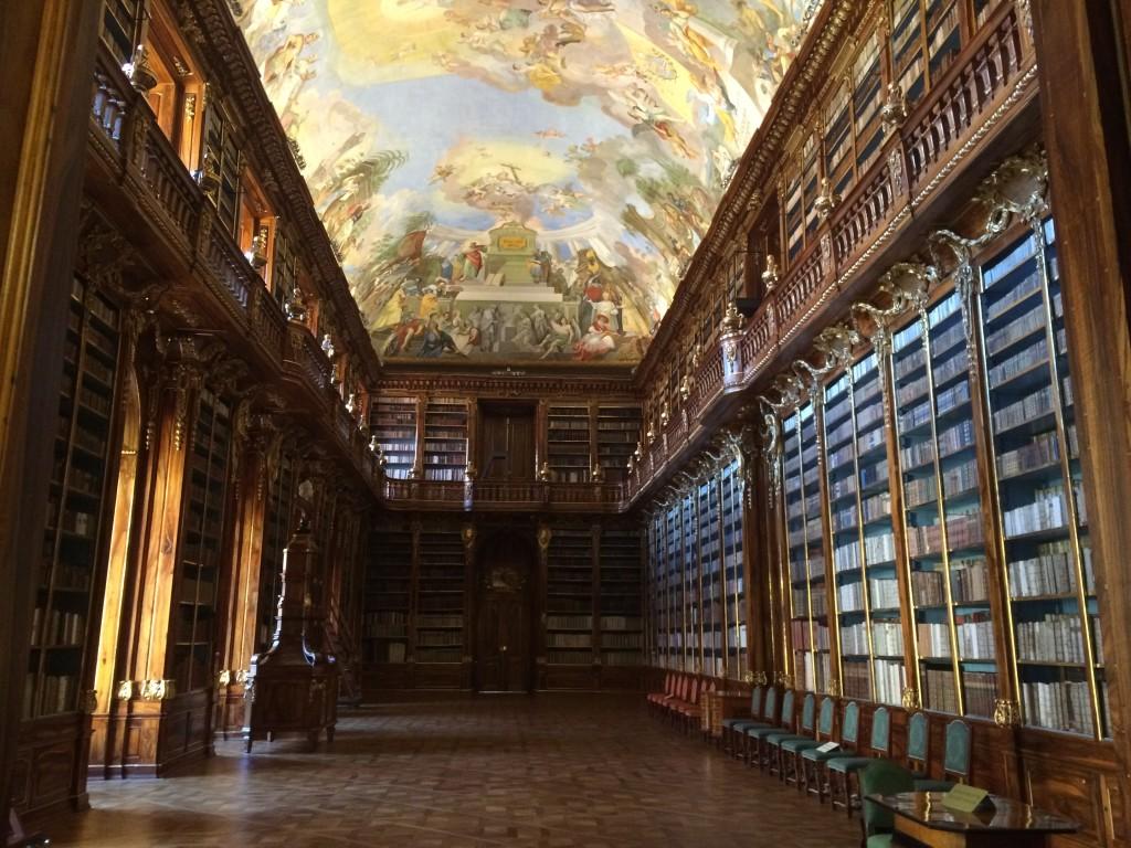 Strahov Kütüphanesi Felsefe Salonu