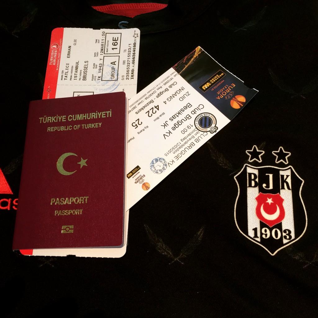 Brugge-Beşiktaş maç hazırlıkları