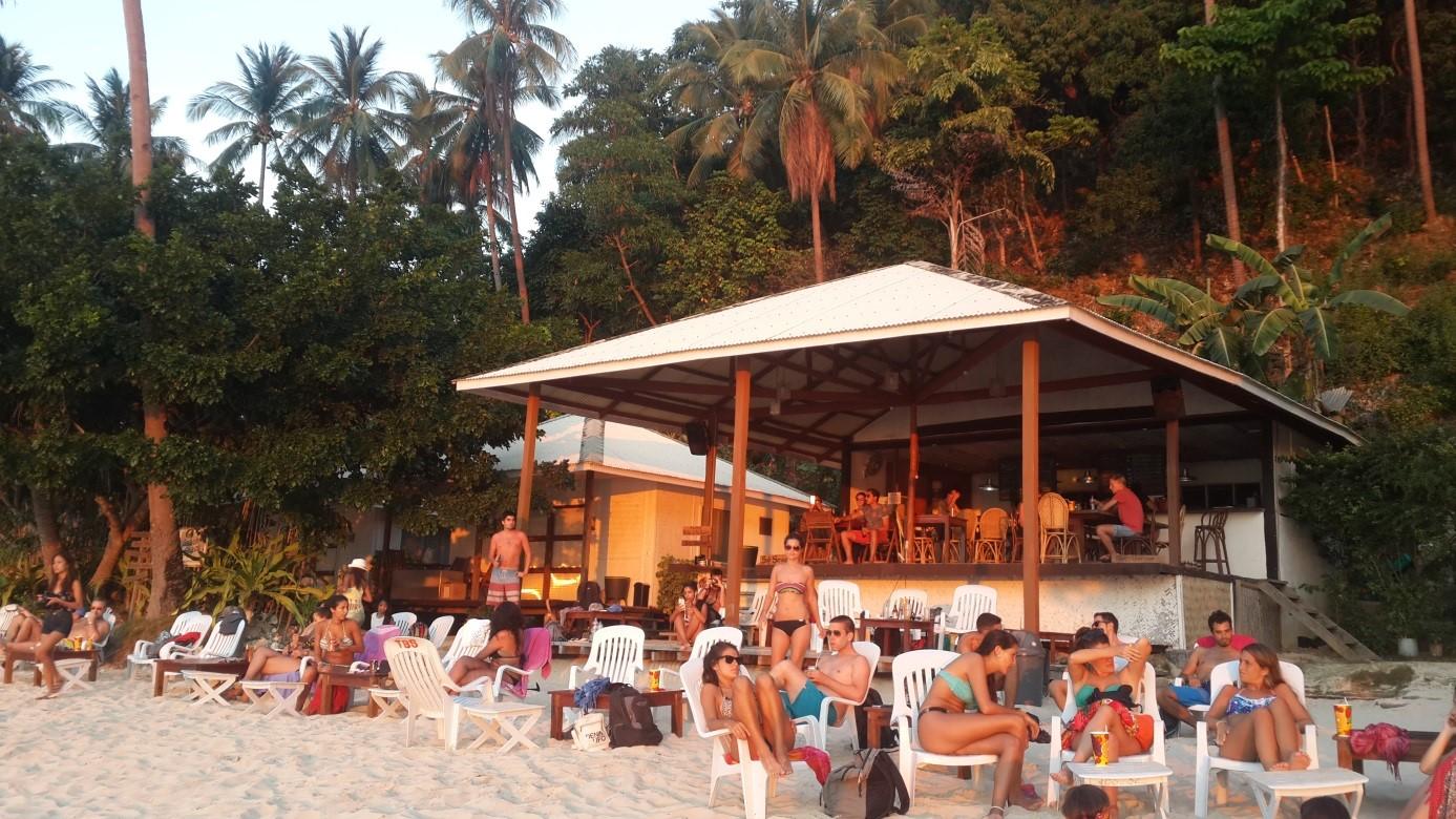 Las Cabanas'ta gün batımı