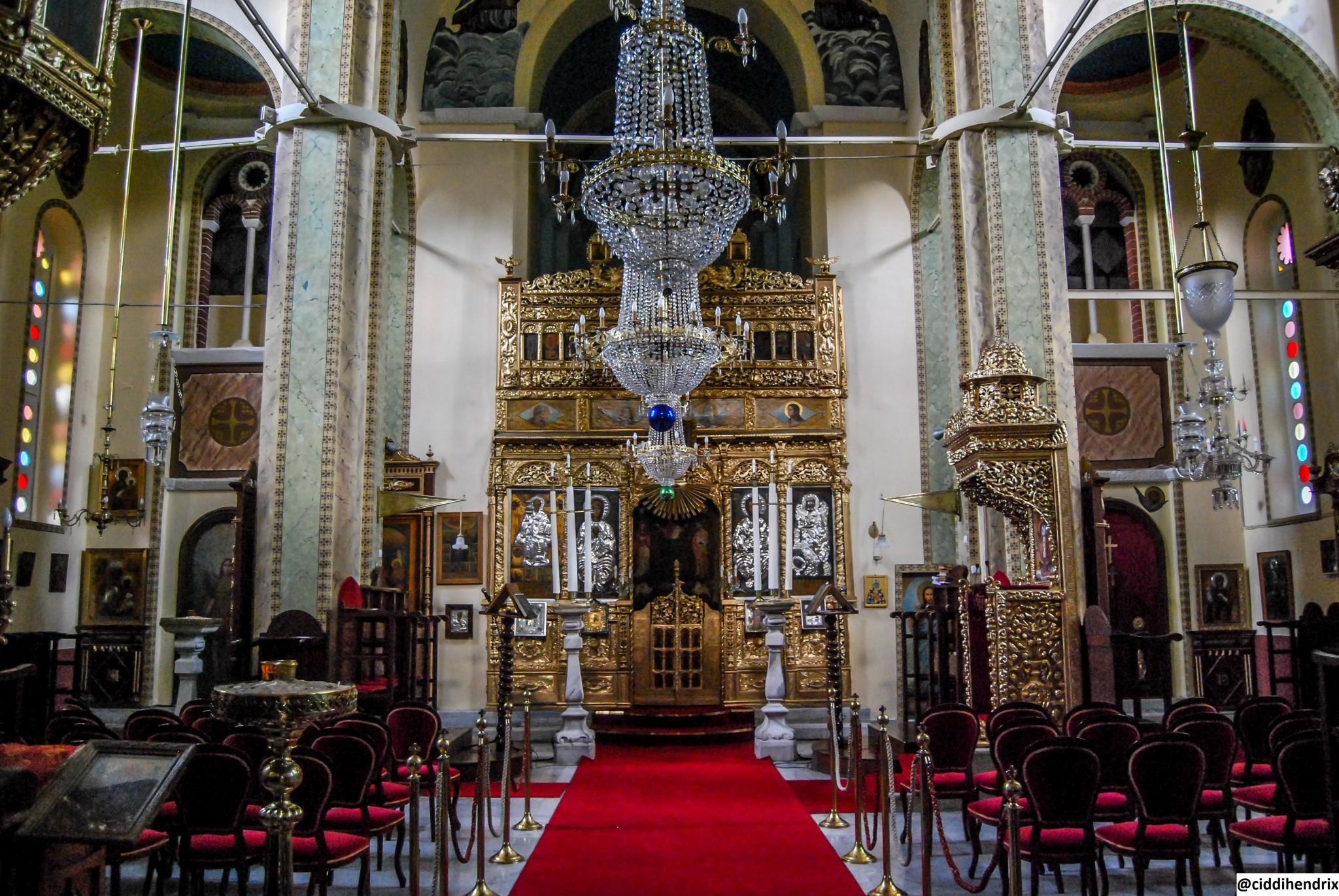Burgazada Aya Yani Kilise İçi