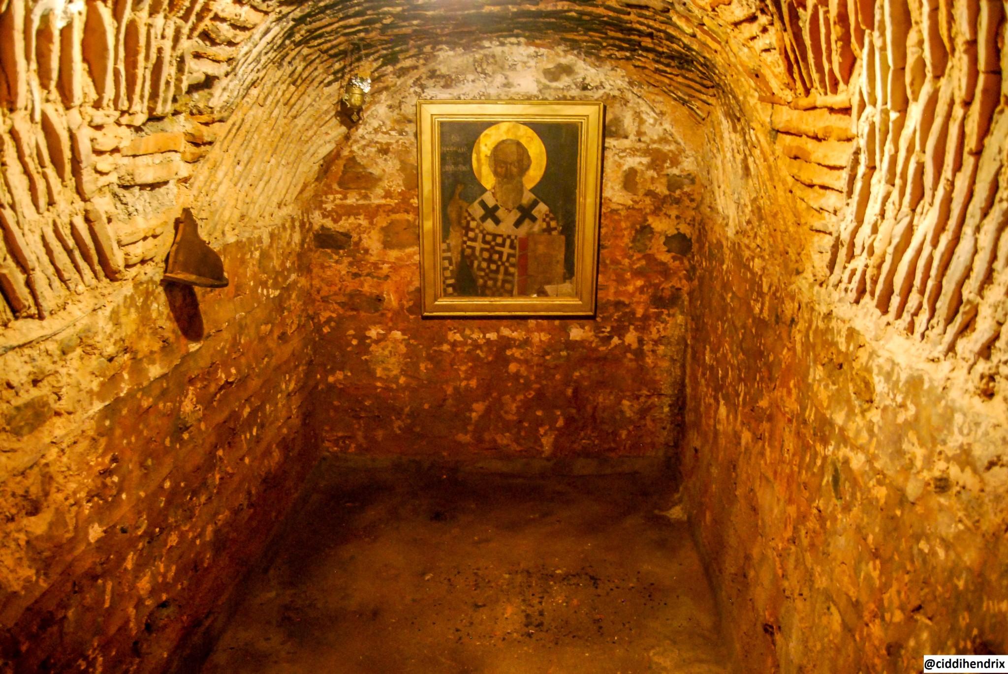 Burgazada_Aya Yani Kilise Hücre İçi