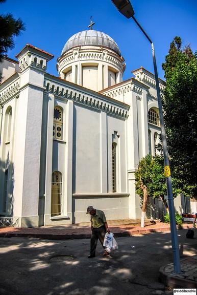 Burgazada Aya Yani Kilisesi Dış