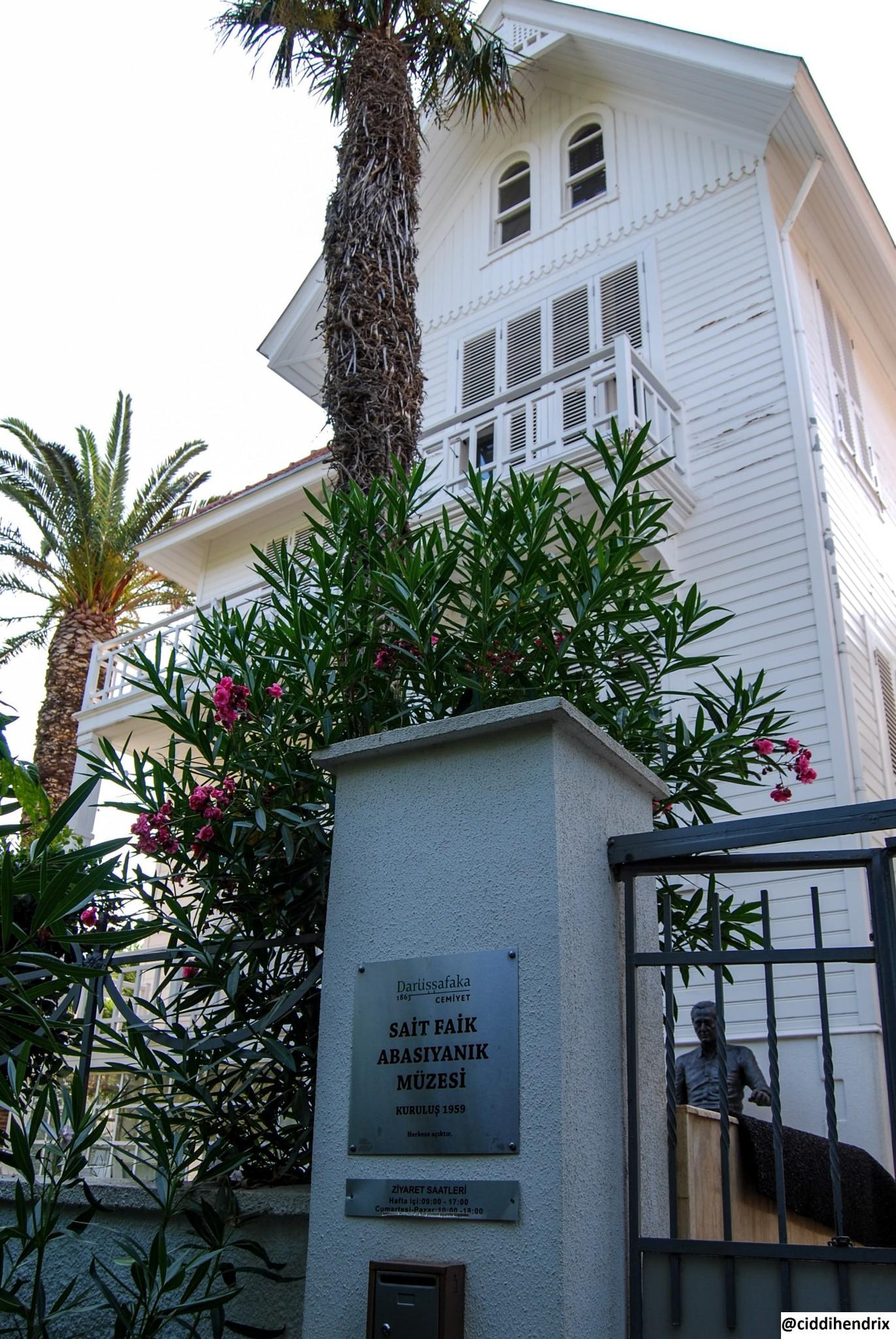 Burgazada Sait Faik Abasıyanık Müzesi