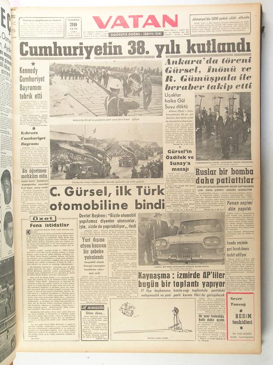 Devrim Arabası Gazete Küpürü