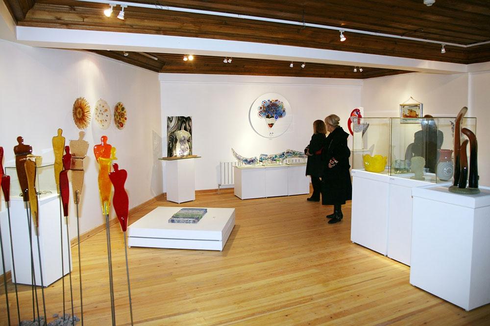 Eskişehir Çağdaş Cam Sanatları Müzesi İçi