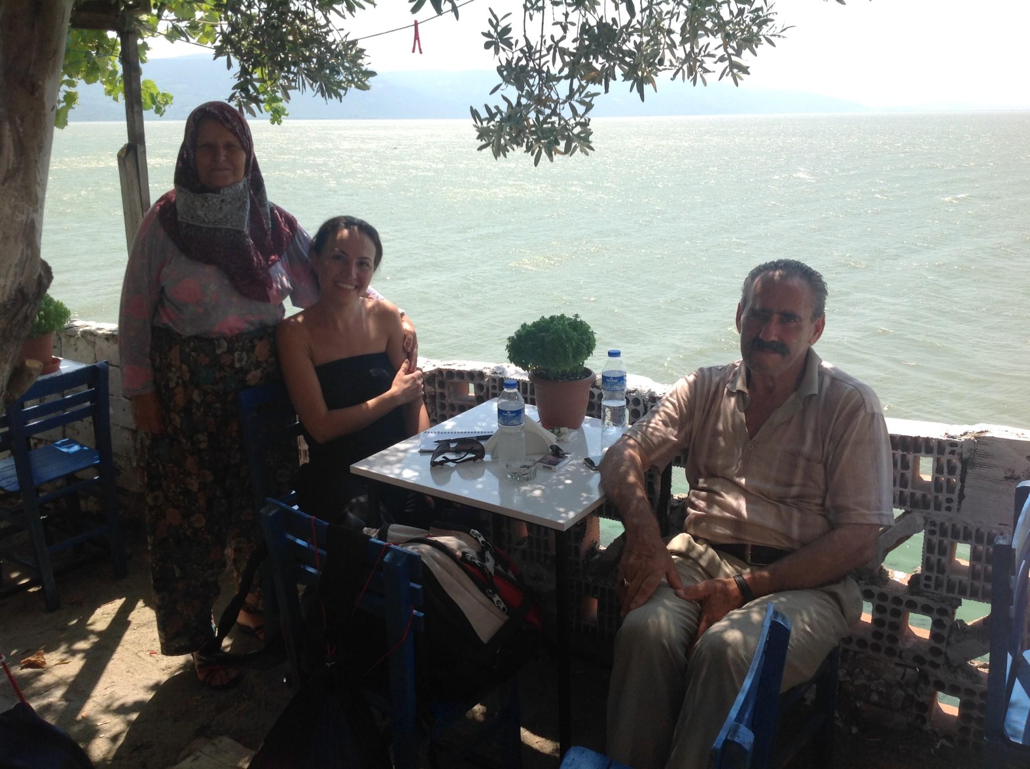 Gölyazı Köyü Selim Amcanın çay bahçesi