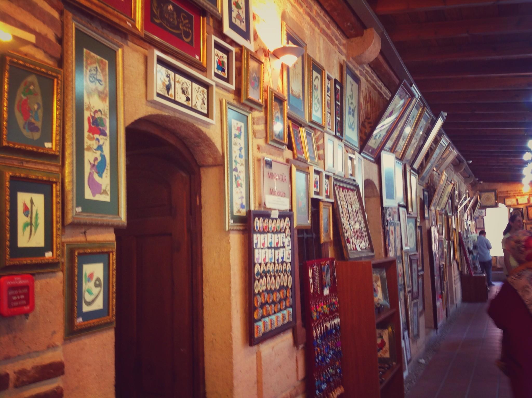 Eskişehir Kurşunlu Cami Külliyesi El Sanatları Çarşısı