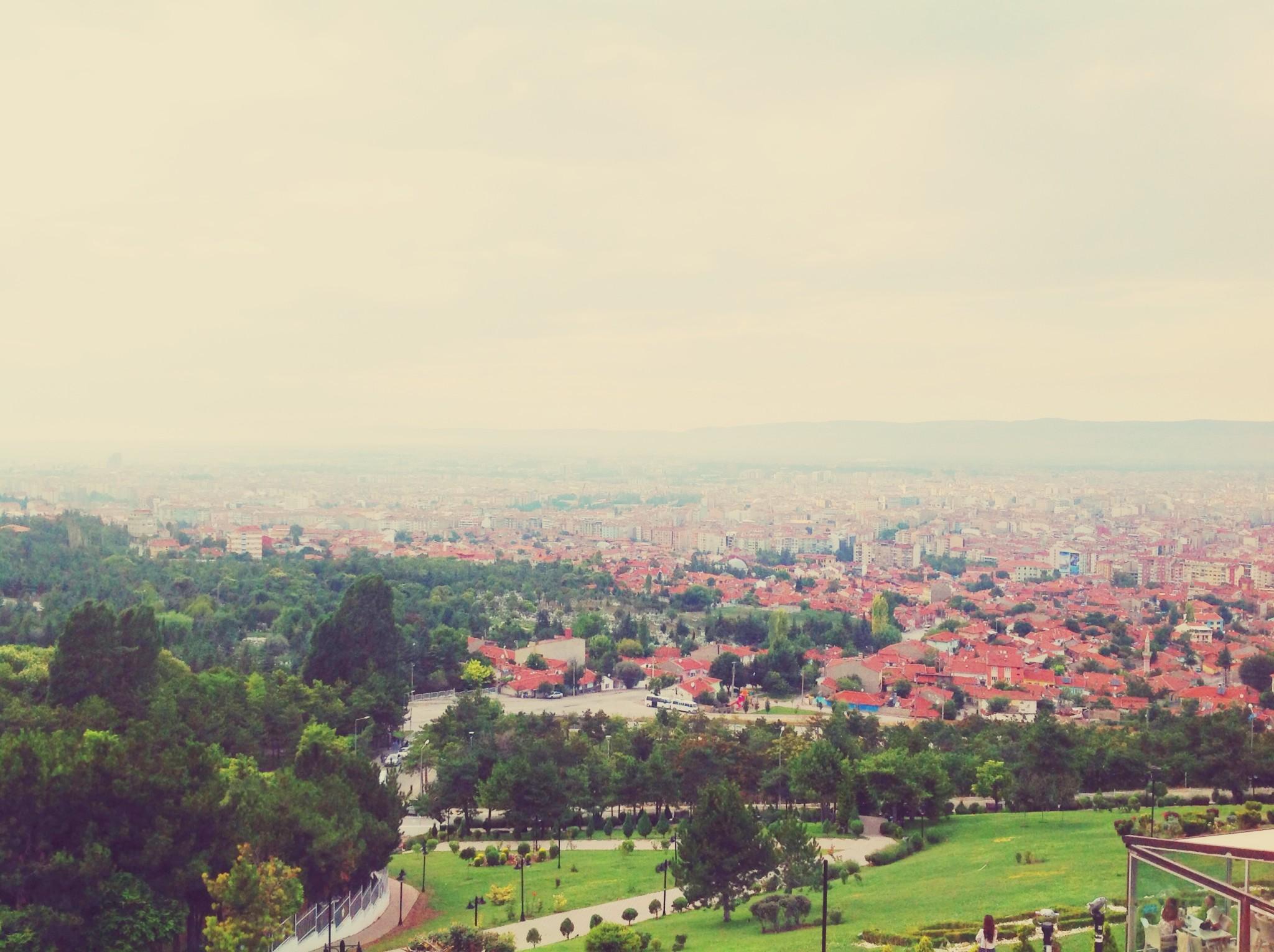 Eskişehir Şelale Park'tan Eskişehir Manzarası