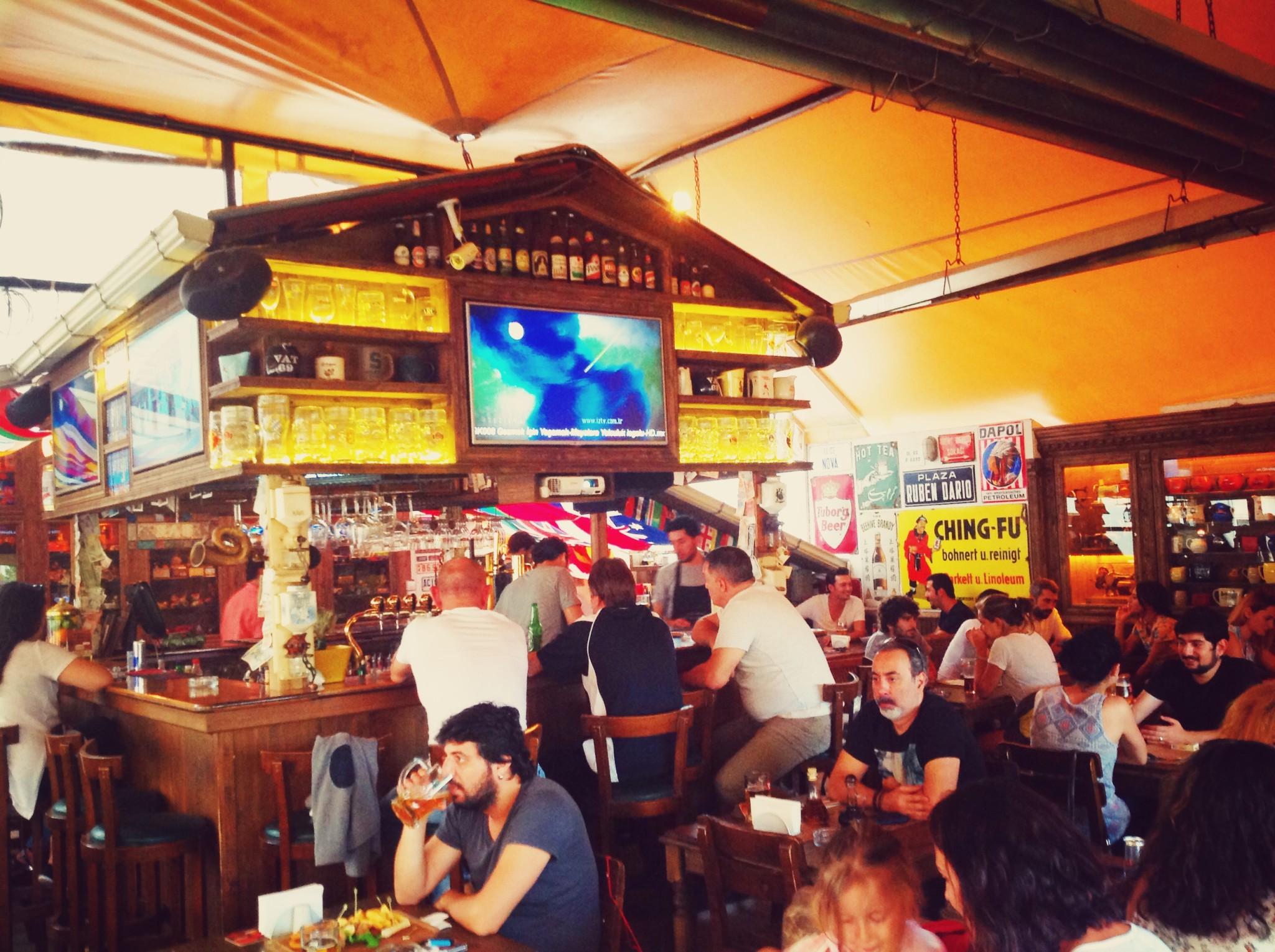 Eskişehir Cafe Del Mundo İçi