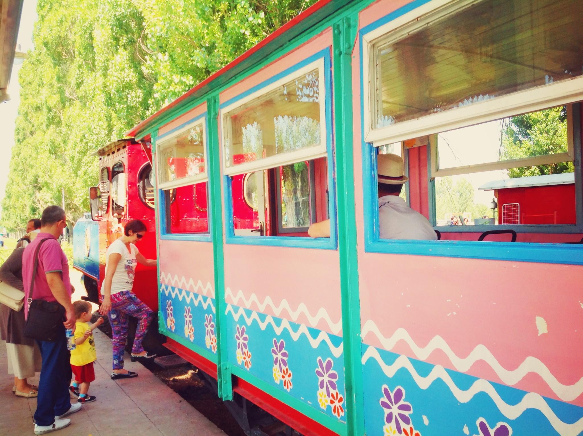 Eskişehir Sazova Parkı Tren Turu