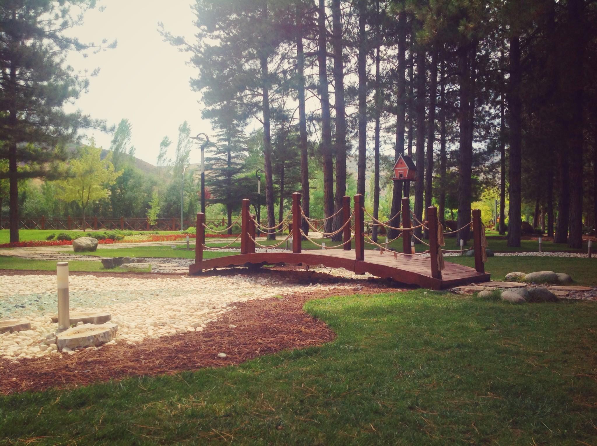 Eskişehir Regülatör Parkı Yanındaki Botanik Park