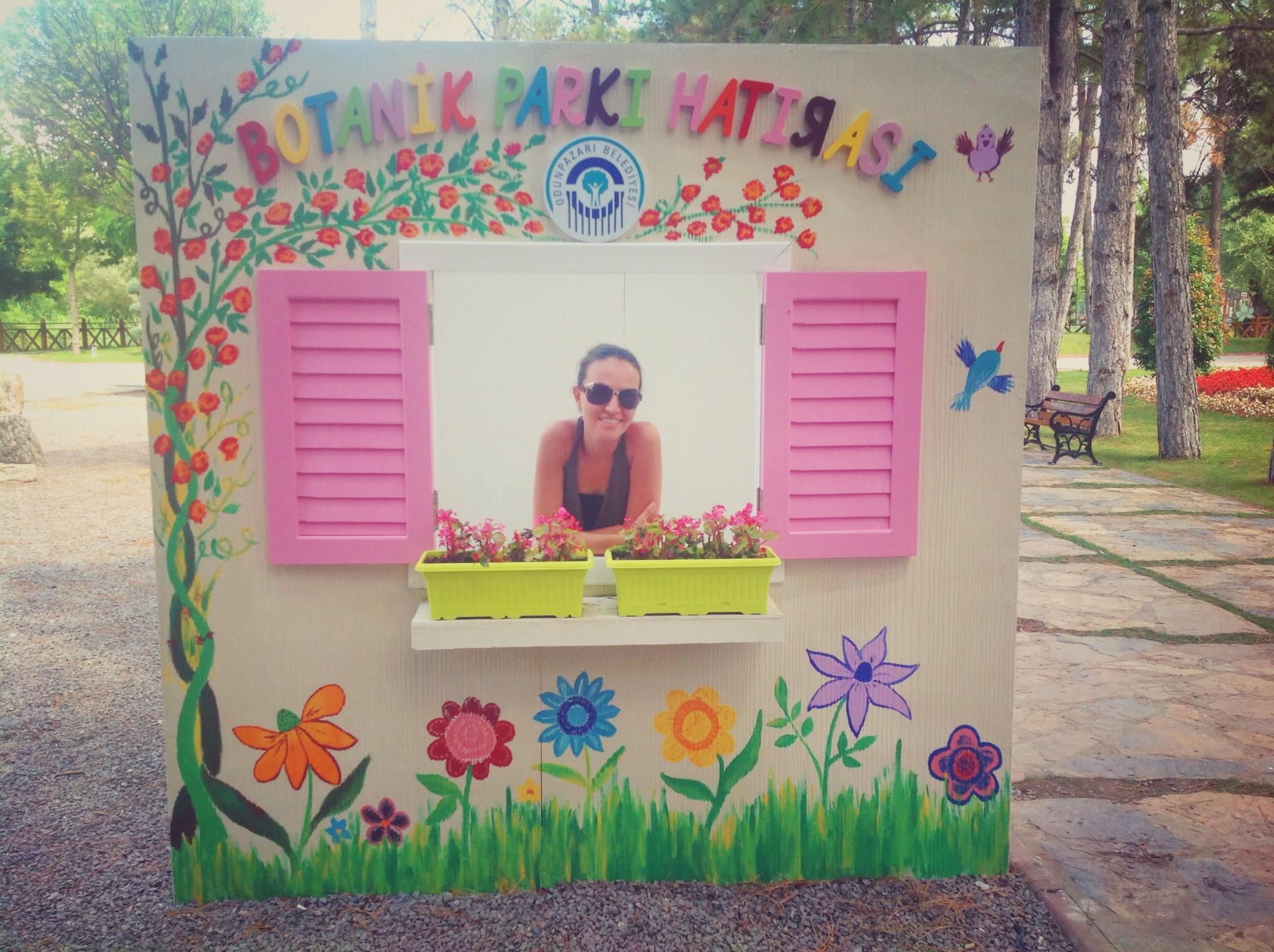 Eskişehir Regülatör Parkında Botanik Park Hatırası