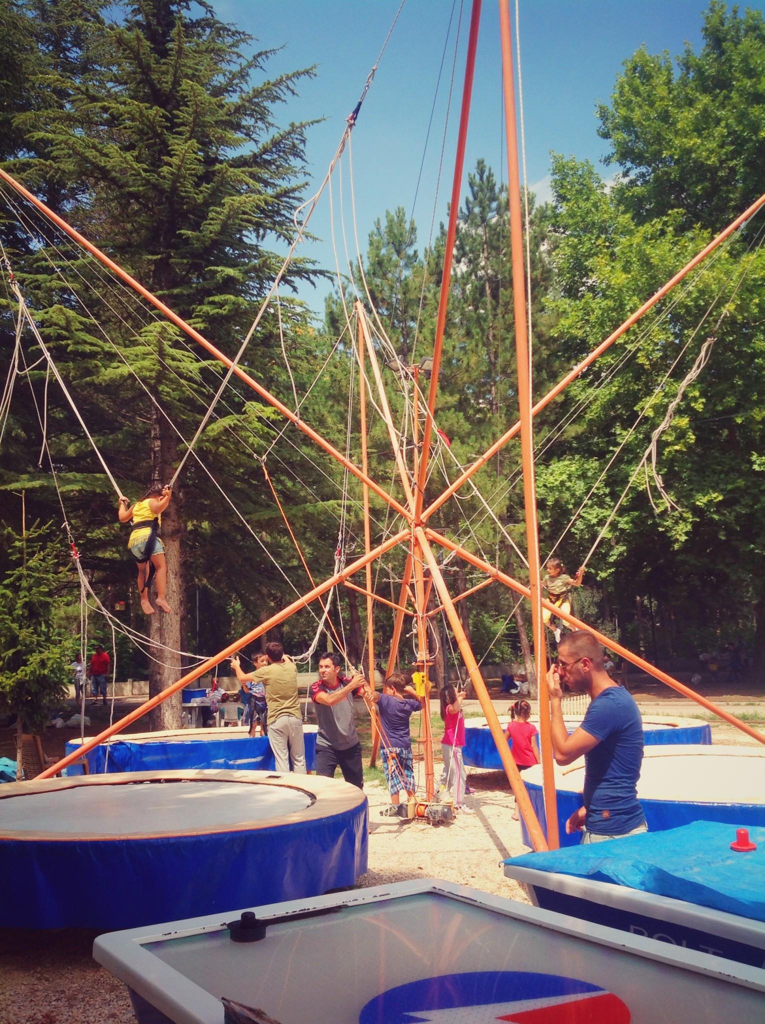 Eskişehir Regülatör Parkı Çocuk Oyun Alanı