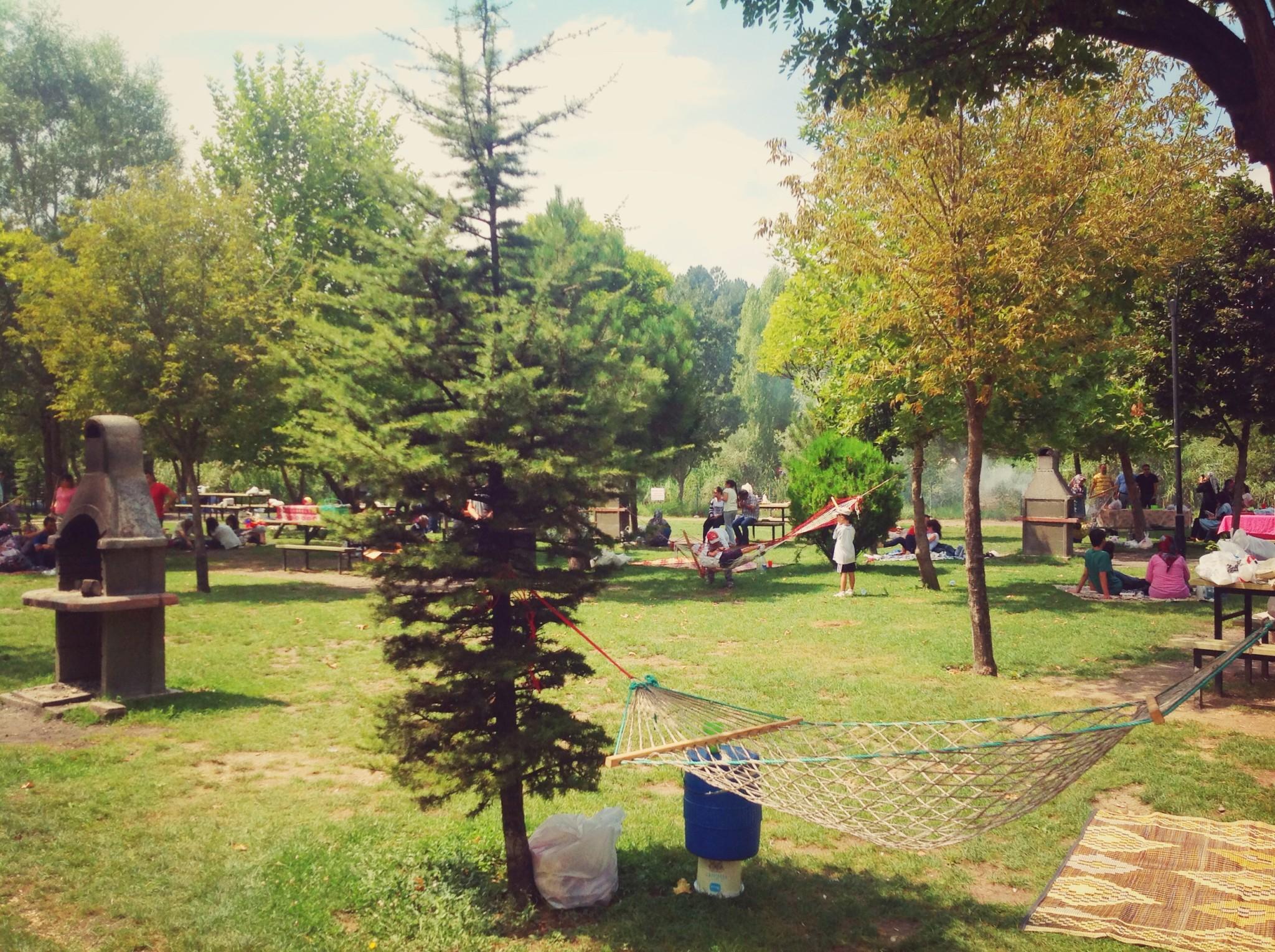 Eskişehir Regülatör Parkı Piknik Alanı