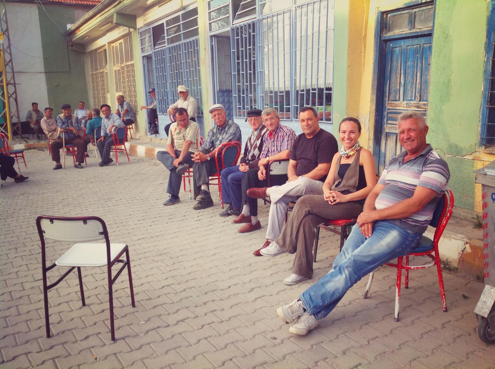 Eskişehir Nasreddin Hoca Köyü Meydan Kahve