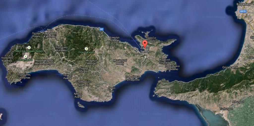 Samos-Dilek Yarımadası