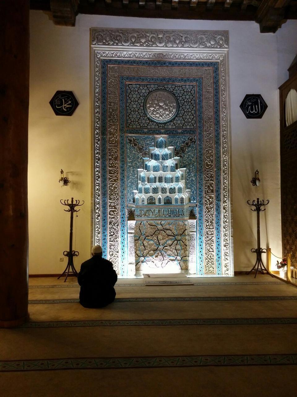 Ankara Arslanhane Camii İçi