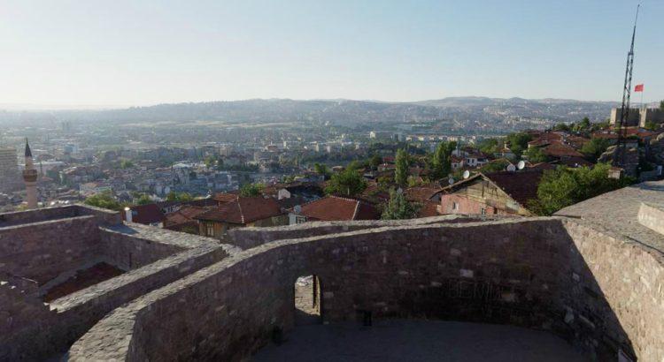 Ankara Kalesi'nden Manzara