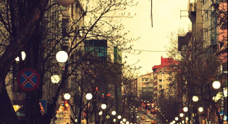 Ankara Tunalı Hilmi Caddesi