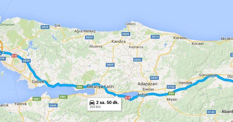 Istanbul'dan Abant'a nasıl gidilir?