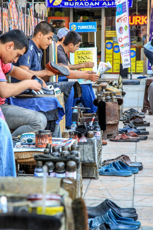 Ayakkabı Boyacıları