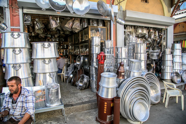Adana Tarihi Kazancılar Çarşısı