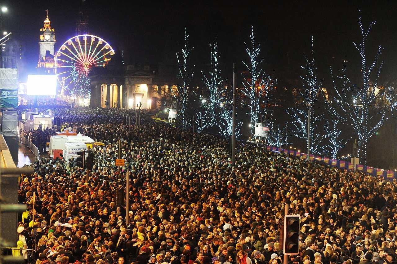 Edinburgh Hogmanay Yeni Yıl Festivali