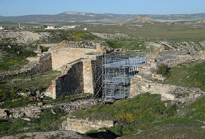 Gordion Antik Kent Çalışmaları