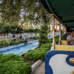 Merkez Park'ta Trenle Gezi