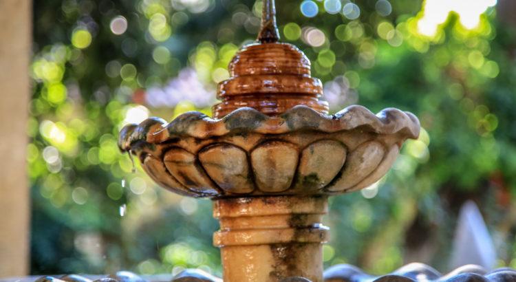 Ulu Camii Külliyesinde Medresedeki Şadırvan