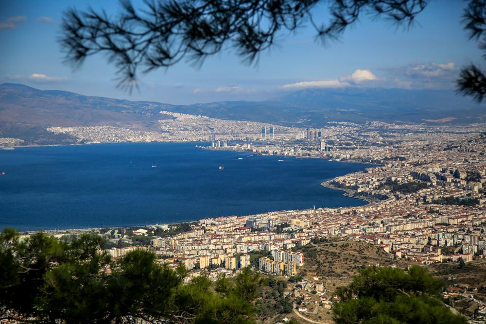 İzmir Teleferik Seyir Terasından Manzara