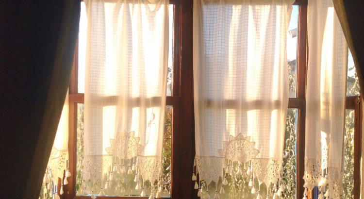 Hotel Nish Cumbalı Odamızın penceresi