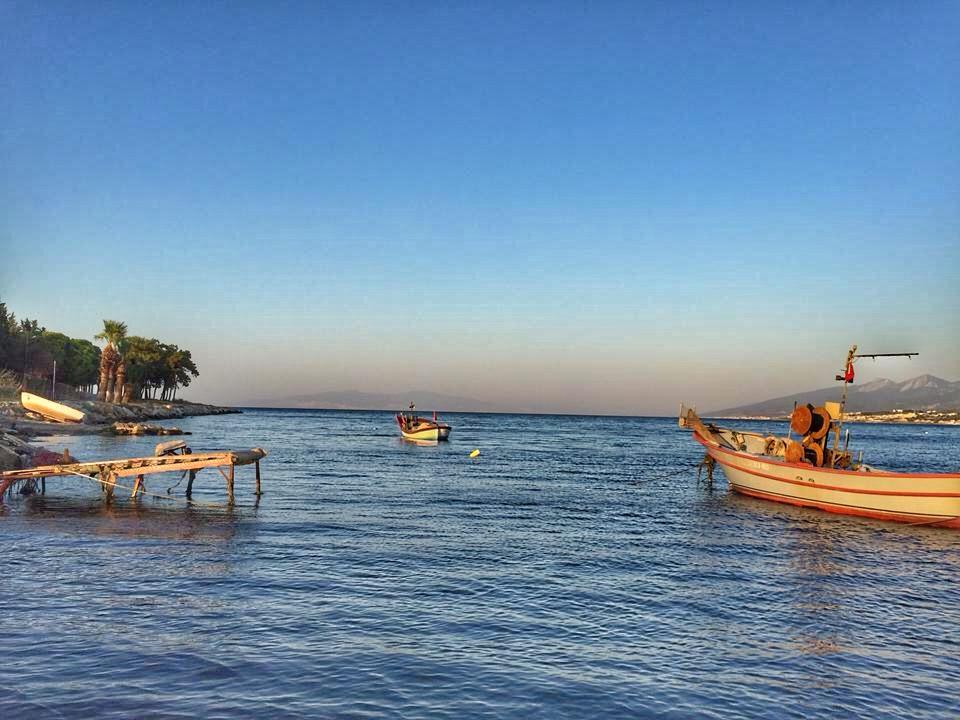 Urla Karantina Adası Manzara