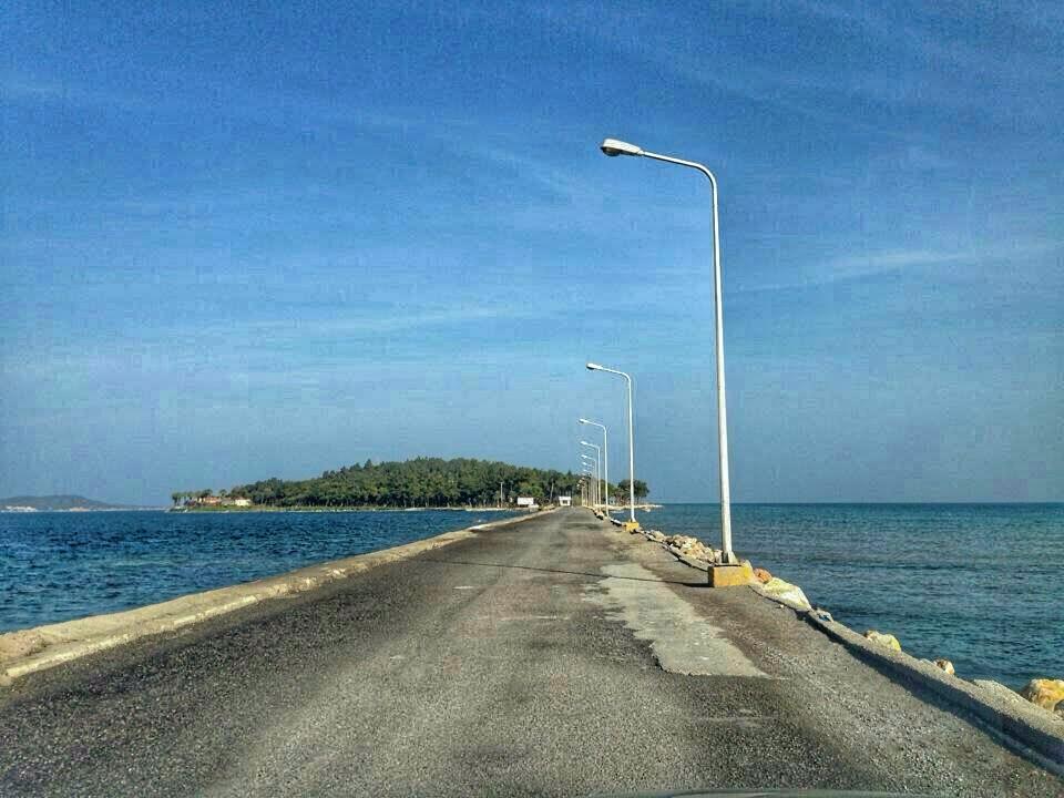 Urla Karantina Adası Yolu
