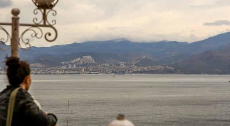 İzmir Tarihi Asansör Binasından Manzara