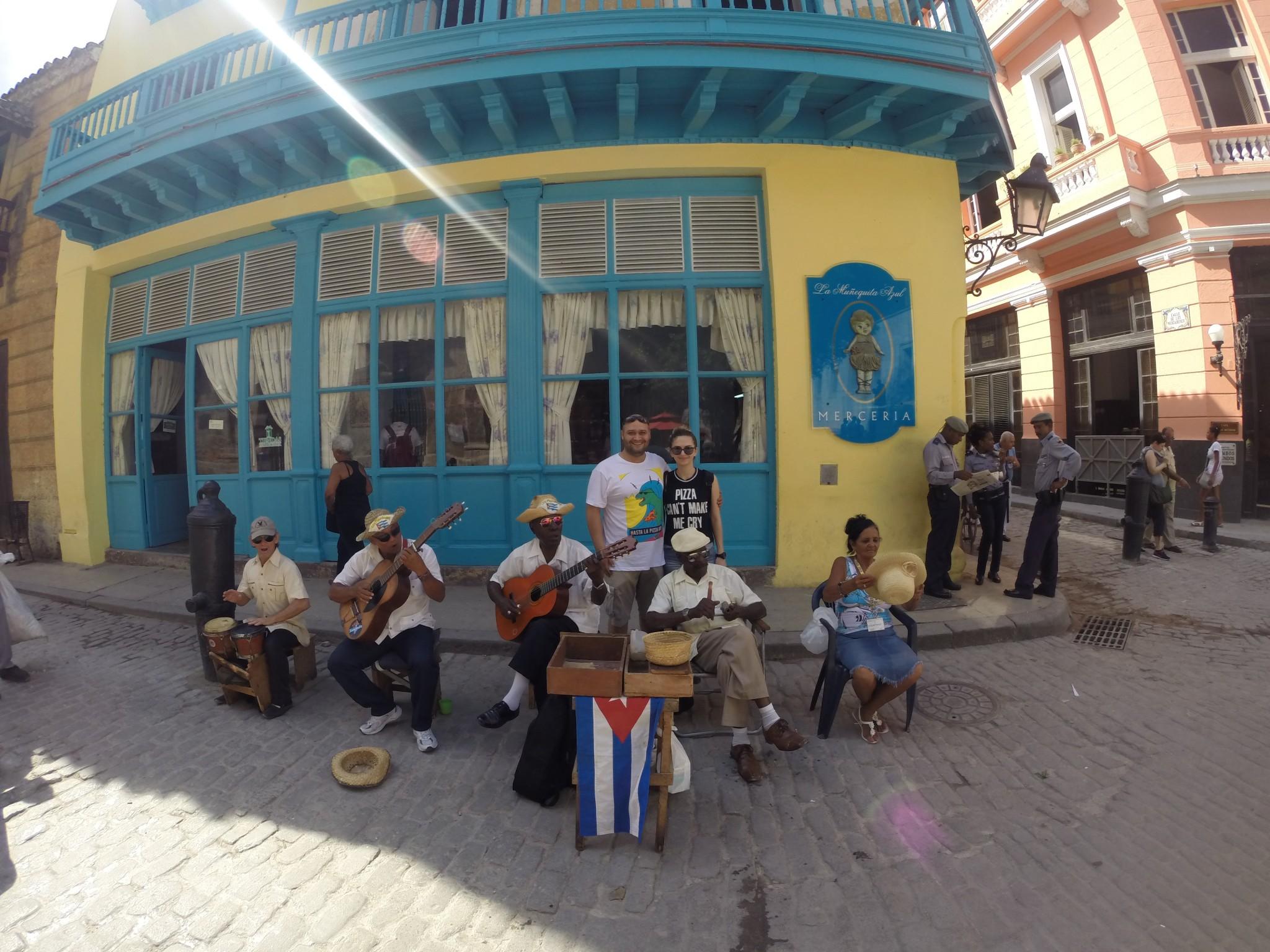 Küba Sokak Müzisyenleri